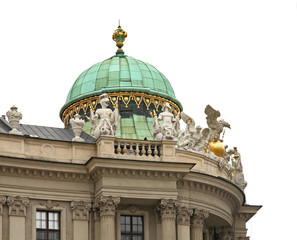 St. Michael's Wing of Hofburg Palace in Vienna. Austria