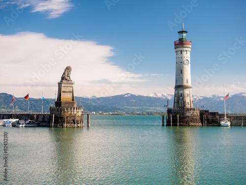 Hafeneinfahrt Lindau Bodensee