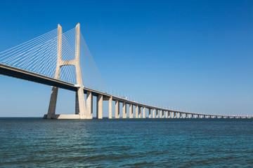 Vasco da Gama Bridge in Lisbon