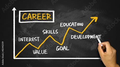 career development chart - 82442519