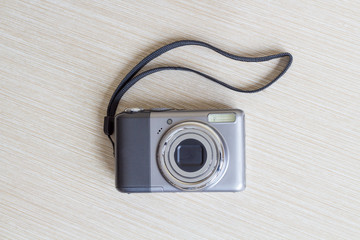 Digital photo camera.