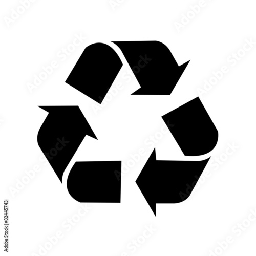 Zdjęcia na płótnie, fototapety, obrazy : Recycle simbol