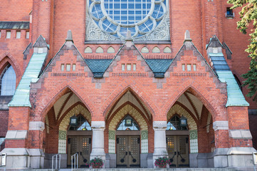 St Michael's Church in Turku, Finland