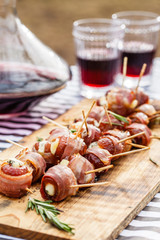 stuffed dates with bacon
