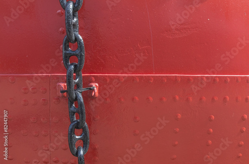 Leinwandbild Motiv chain