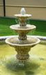 Leinwanddruck Bild - Small fountain