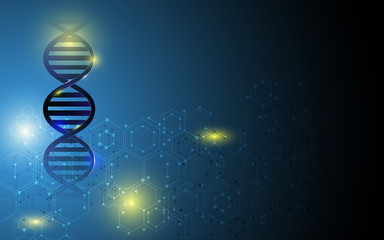 dna structure background