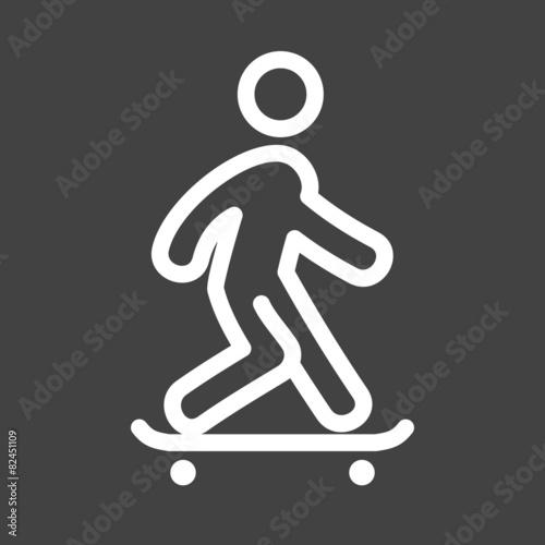 Skate Boarding - 82451109