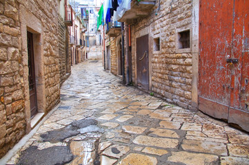 Alleyway. Bisceglie. Puglia. Italy.