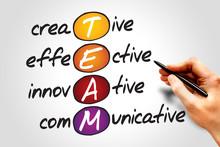 TEAM, business concept acronym