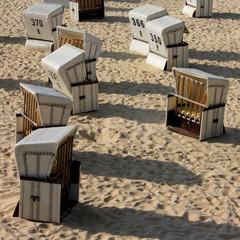 Kolonie Strandkörbe