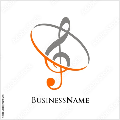 music logo icon vector - 82461305