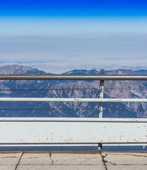 The viewpoint, Top of Germany, Zugspitze