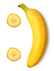 Smiley banana
