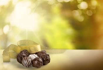 Chocolate. Truffles