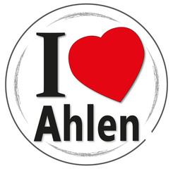 I love Ahlen