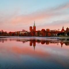 Stralsund im Winter