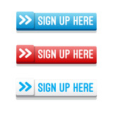 Sign Up Here Buttons