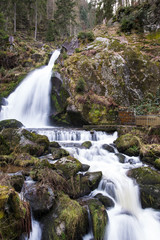 A waterfall in the Black forest