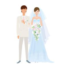 ウエディング 結婚 新郎新婦