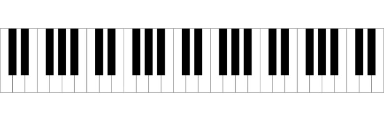 pianoforte, tastiera, note, tasti