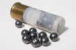 Leinwandbild Motiv munitions de chasse calibre 12