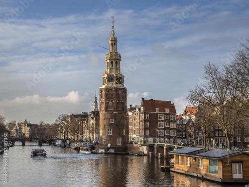 Plexiglas Amsterdam Montelbaanstoren
