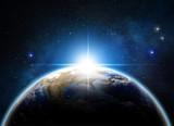 sunrise over the earth - 82487526