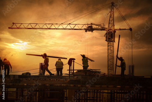 Construction Site - 82489321