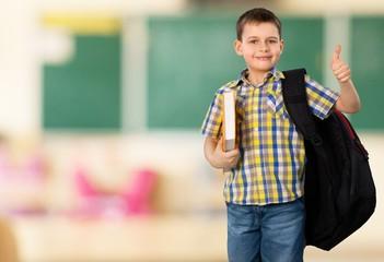 Elementary Student. Schoolboy