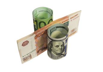 Наличные деньги уложенные в виде процента.