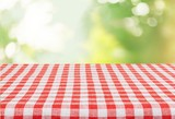 Fototapety Picnic. Empty table for Your photomontage or product display.