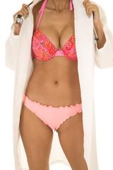 woman doctor in bikini body
