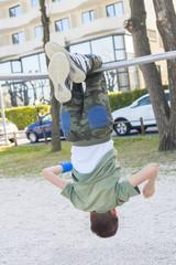 Acrobati child