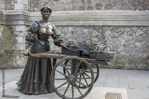 Molly Malone Statue Suffolk Street Dublin