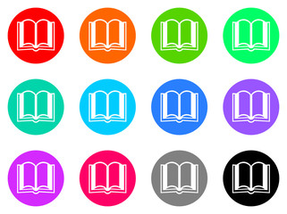 book vector web icon