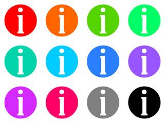 information vector web icon