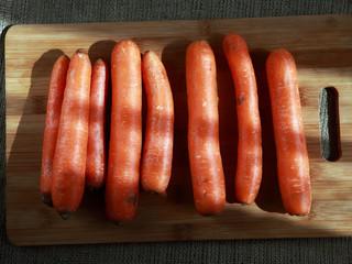 ряд моркови