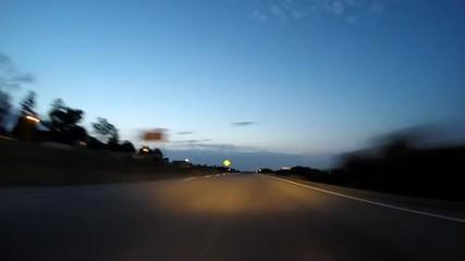 Los Angeles Freeway Dawn
