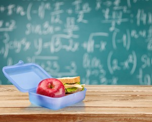 Lunch Box. School lunch