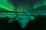 Fototapeta Northern lights (Aurora Borealis) in Iceland