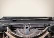 Typewriter. Typewriter - Blank Page