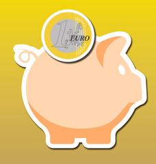 Cerdo ahorro