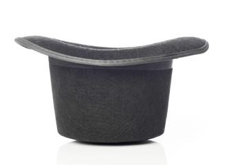 Black hat upside down