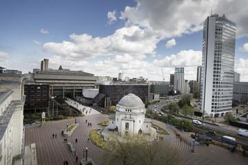 Birmingham Centenary Square,England