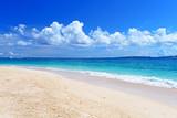 Fototapety 美しい沖縄のビーチと夏空