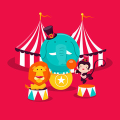 Carnival Circus Animals