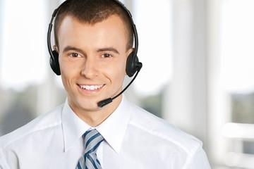 Service. Telephone operator