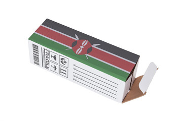Concept of export - Product of Kenya