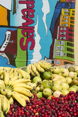 Salvador Brazil Bananas and Acerola Cherry Fruit